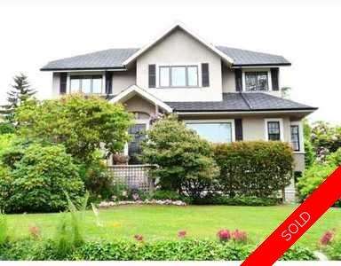 South Granville House for sale:  5 bedroom 3,653 sq.ft. (Listed 2009-07-20)
